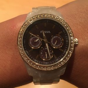 Fossil Opal Band Watch